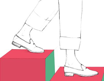 FRATELLI ROSSETTI First step: sketch.