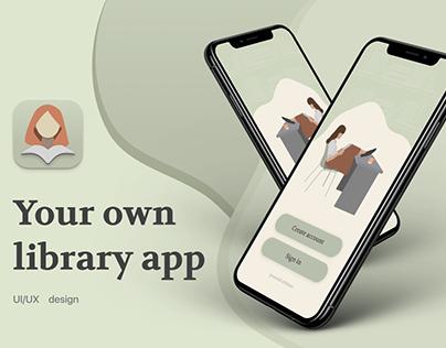 Mobile app for reading