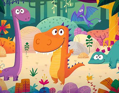 Puzzles illustration