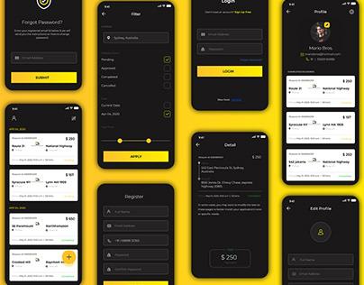 On-Demand Parcel Delivery App Design