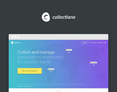 Collectlane Landingpage