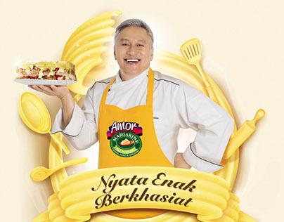 Amor Margarine Branding