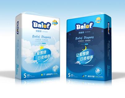 Branding // Diapers Packaging
