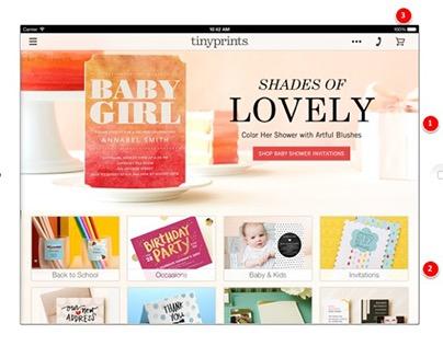 Tiny Prints iPad App