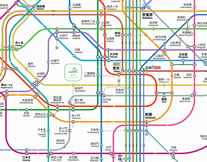 Greater Tokyo Railway Network | Version 2.3