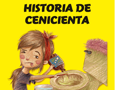 ILUSTRACIÓN - La verdadera historia de cenicienta