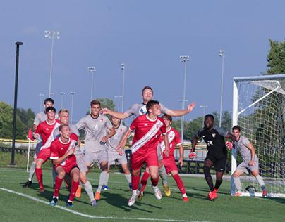 Indiana University vs Bowling Green Mens Soccer