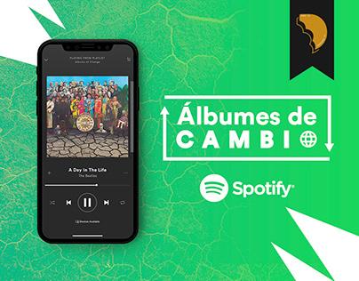 -SPOTIFY- Álbumes de Cambio