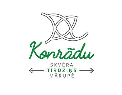 KONRADS' SQUARE MARKET PLACE LOGOTYPE