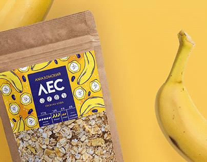 Porridge packaging design