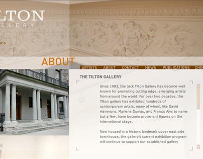 Tilton Gallery - Interaction Design