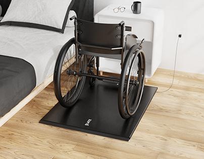 Slate Wheelchair Scale