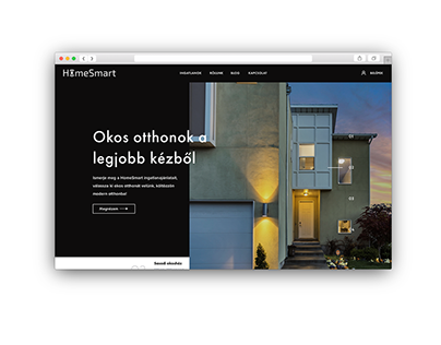UI Design for HomeSmart