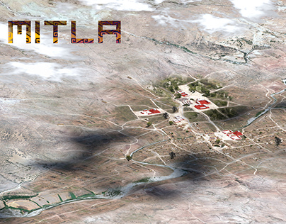 Mitla - render for Blender online workshop
