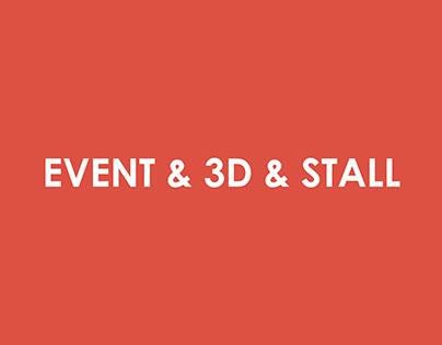 Event & 3D % Stall Vol #02