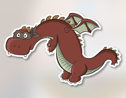 Rock n' Roll Karate Sex Dragons Podcast Character Logo