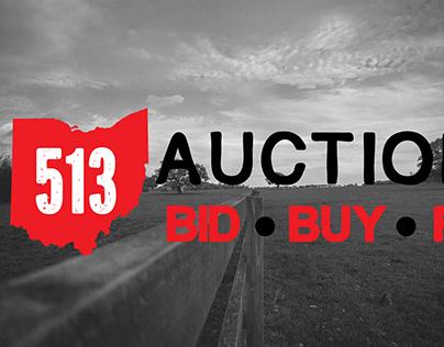 513 Auctions Logo