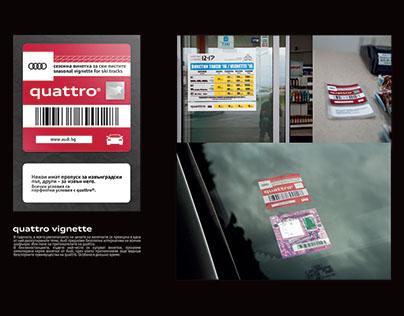 Audi: quattro vignette