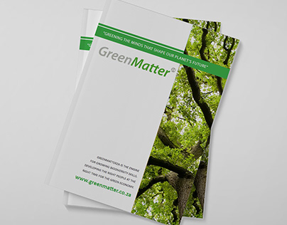 GreenMatter booklet design