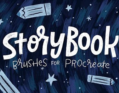 Storybook Brushes for Procreate