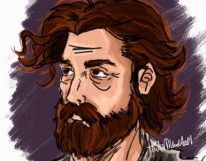 Sketch Old Man