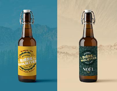 Branding • La bière des Moliettes