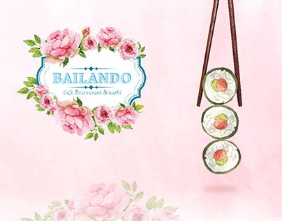 Bailando Cafe & Sushi - Social Media
