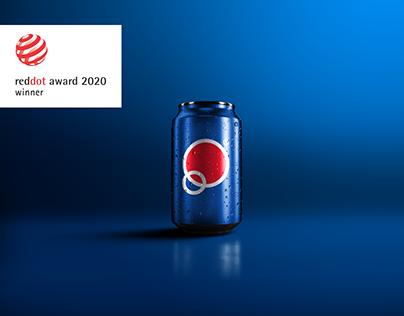 Pepsi Logo Identity and UI/UX Design Concept