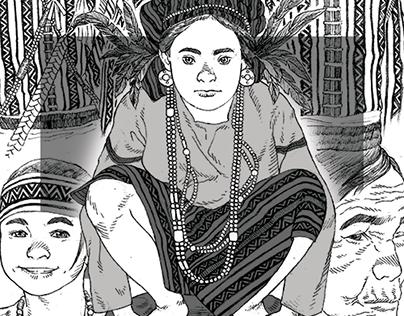 Sketch - Igorots of the Cordilleras