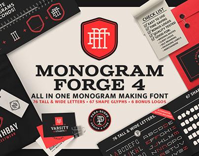 MONOGRAM-FORGE-4 Display Typeface