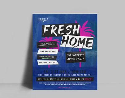 Poster Design - Fresh Home