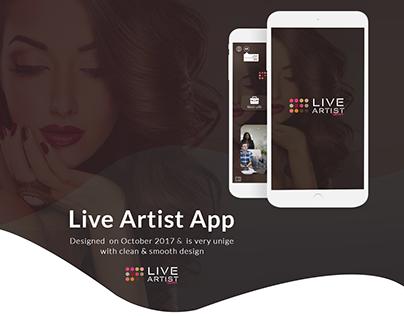 Live Artist - Mobile App