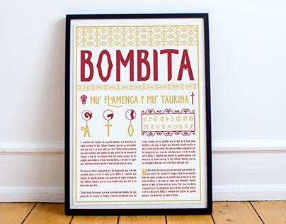 Tipografía decorativa BOMBITA