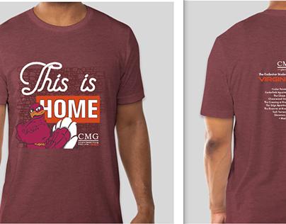 Co-branded t-shirt design