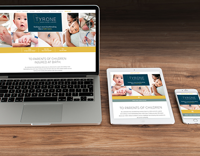 Website for Tyrone Law Firm