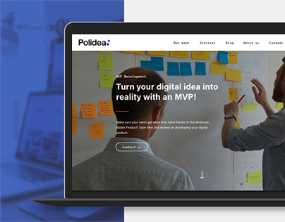 Polidea Landing Pages