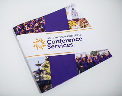 JMU Conference Services Booklet Cover