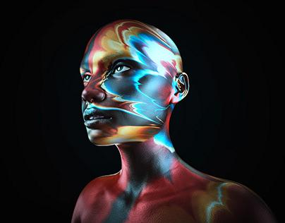 colorpaint portrait 3d