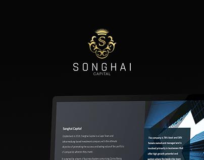 Songhai Capital Rebrand + Presentation Design