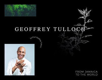 Chef Geoffrey Tulloch — Branding