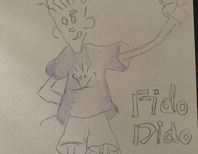 Fido Dido - 7up Cartoon character