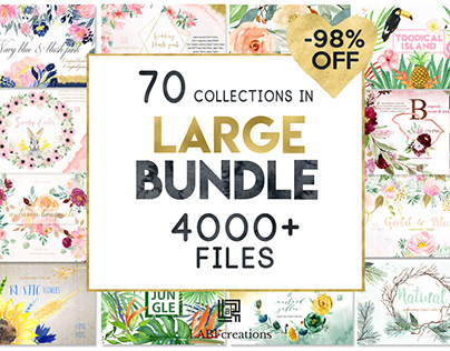 98% Off Large Bundle 4000 in 1