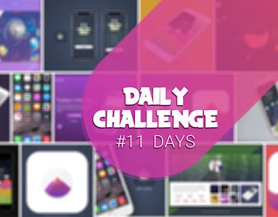 100 Days UI Challenge: 11 Day