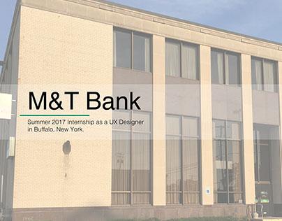 M&T Bank Internship