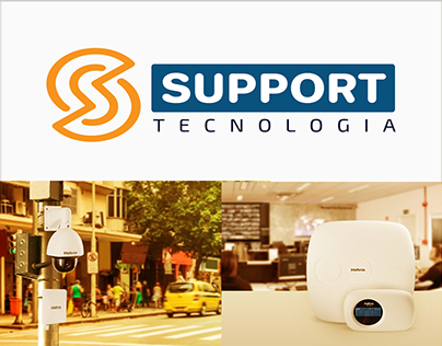 IDENTIDADE VISUAL SUPPORT TECNOLOGIA