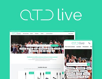 ATD Live refonte du site