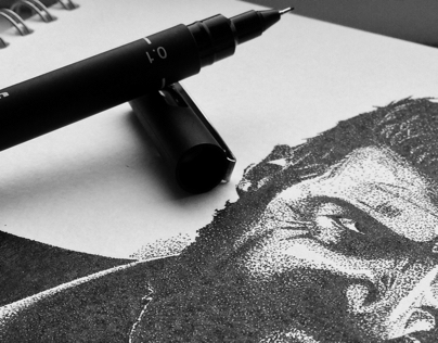 | Stippling from Movie Trailers: Logan |