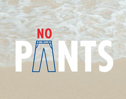 No pants | Aruba - Board