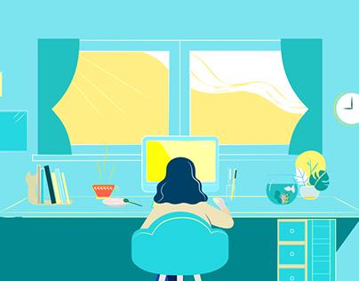 Work / 加點窗簾生活表現短片, 2017