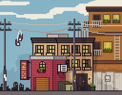2D Game Art / Pixel Art . Temporary Dump